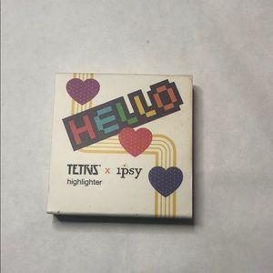 Tetris highlighter from Ipsy